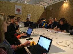 Möte med svenska delegationen