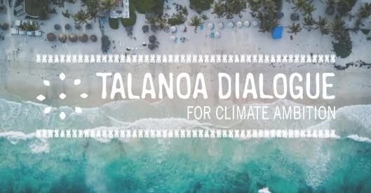 Talanoa Dialogue blue logo