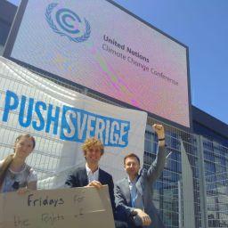 Första veckan på klimatkonferensen – vad vi gjorde!